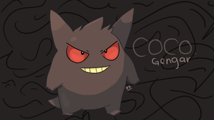 Coco the Gengar by vintagetv