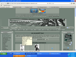 deviantART in March 24, 2002 by Charleston-and-Itchy