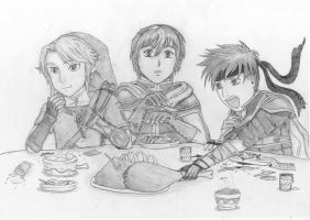 the feast by zelda-Freak91