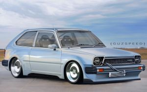 Honda Civic classic modification JDM by GUZSPEED