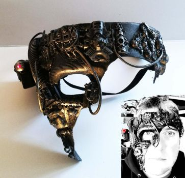 star trek borg cosplay mask by richardsymonsart