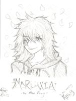 Marluxia, Man fairy by TheAstrica