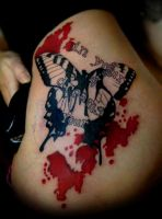 butterfly by evilmoon-tattoo
