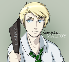 HP: Next Generation - Scorpius by twilights-star