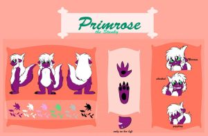 Primrose - Reference Sheet by Seraphon
