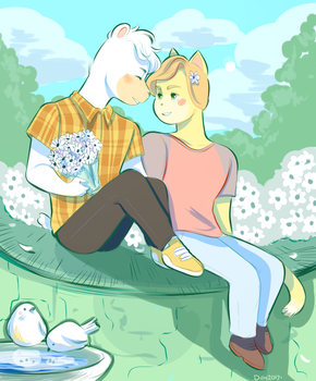 I want the spring by Papercut-Cranes
