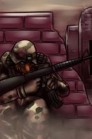 Commission- Silent War by Barrin84