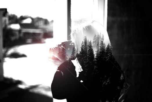 Double Exposure #9 by EricPSnoob