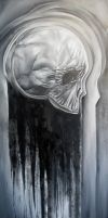 Skull Once a Cloud by johnnyjinx