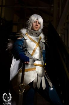 .hack// Balmung of the Azure Sky - OUT OF MY WAY!! by suuzan