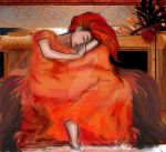 flaming June my version by ravenpr