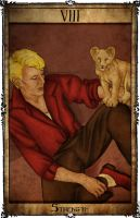 Bowie Tarot Collection - VIII - Strength by Triever