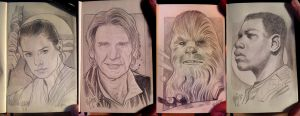 STAR WARS Sketchbook 2 by RUIZBURGOS