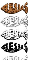 Jesus Fish - Vector by hassified