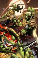 TMNT Jump! by AlonsoEspinoza