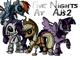 Five Nights at AJ's 2 by Bird-Spirit