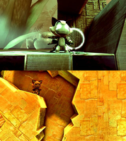 Catapuss and Skipper in LBP2 by NoteSwift