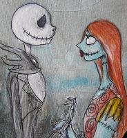 Jack n Sally by Lily-pily