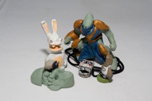 Sculpey works I by Axixion
