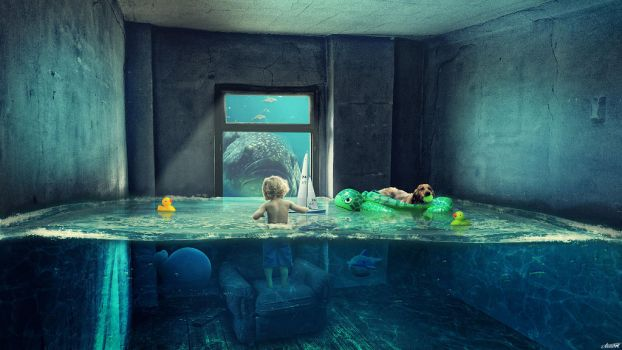 Water Room by FantasyArt0102