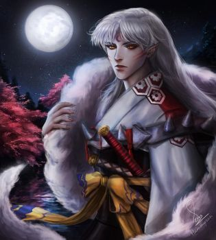 Sesshomaru by HammySan