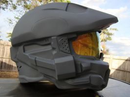 Halo 4 helmet latest pic by Hyperballistik