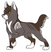 new male pup design by Icetalon-the-Warrior