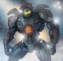Gypsy Danger by edcomics