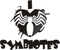 I Heart Symbiotes 2 by Jay13x