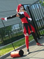Harley Quinn Cosplay (own design) Full Shot by SweeneyLestrange