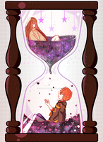 Space Filled Hourglass by KillerLiger3000