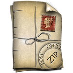 Steampunk Icon for WinZip by yereverluvinuncleber