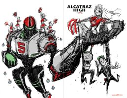 Cover Design B for Alcatraz High by BobbyRubio