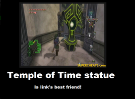 temple of time statue by akctb11