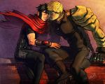Get dark - Wiccan x Hulkling by Cris-Art