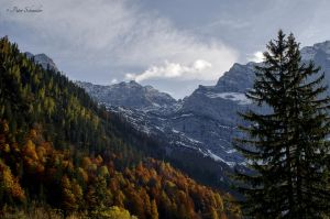 Fall in Karwendel(III). by Phototubby