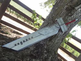 Buster Sword Advent Children by meanlilkitty
