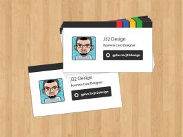 Google+ Profile Business Card by es32