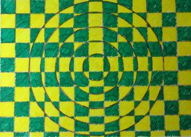Checkered Illusion by bookworm0608