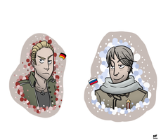 APH: Germany and Russia by NatashaFenik