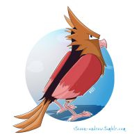 021 - Spearow by steven-andrew
