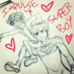Impulse And Superboy from instagram by ArtisticMii