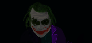 The Joker Speed Drawing by N-ScapePhotography