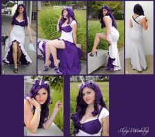 Rarity cosplay for MLP Cosplay competition by ShinjusWorkshop