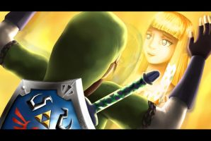 Will you, sleepyhead? -Skyward Sword by lightskin