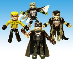 Blackest Night Custom Minimates by luke314pi
