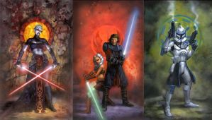 Star Wars Clone Wars Wallpaper by masterbarkeep