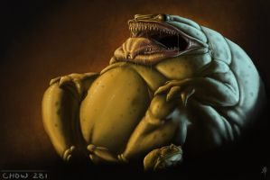 Gluttonous Frog Demon by rpowell77