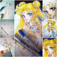 WIP Princess Serenity by Suki-Manga