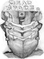 dead space 2 front cover by deathlouis